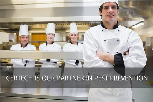 Our scientific approach to pest prevention ensures clean and pest-free environments