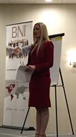 Maile speaking at BNI Leadership Team Training