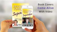 Book Covers COME ALIVE with video and call-to-action buttons