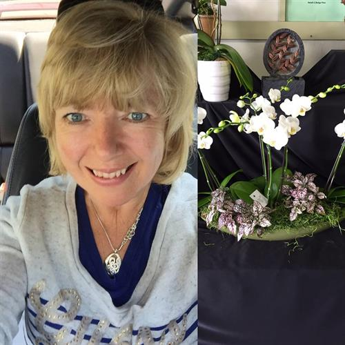 Joyce McKellar, Owner Flowers of Joy