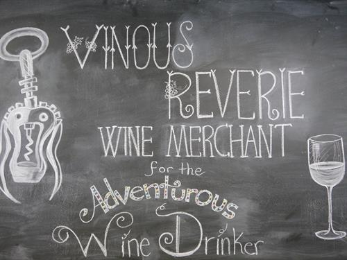 Chalkboard wall motto