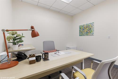 You can have your own office, fully furnished and equipped