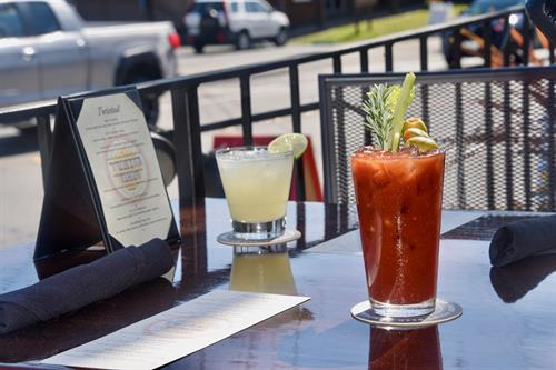 Bloody Mary's on the Patio!