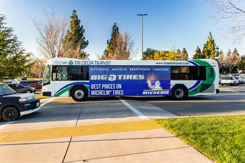 Bus Advertising in Contra Costa County