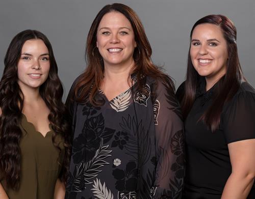 Shelbie, Darlene, and Stephanie