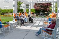 Byron Park courtyard