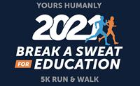7th Annual Yours Humanly Break a Sweat for Education 5K Run & Walk, Kids Fun Run, October 2, Walnut Creek