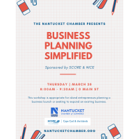 March Edu. Workshop: Business Planning Simplified with SCORE