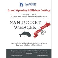 Ribbon Cutting with Nantucket Whaler