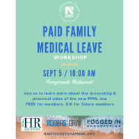 Paid Family Leave Workshop with Fogged In Bookkeeping & Total HR