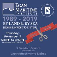 Ribbon Cutting for Egan Maritime Institute
