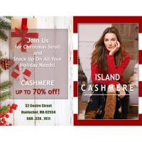 Island Cashmere Up To 70% off!