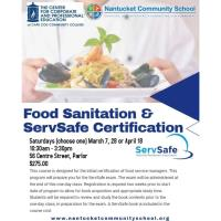 Food Sanitation & ServSafe Certification