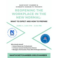 POSTPONED - Webinar with Schwartz Hannum PC on Reopening the Workplace in the New Normal: What to expect and How to Prepare