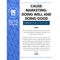 Webinar with  FreeStyle Strategy, Cause-Marketing: Doing Well and Doing Good