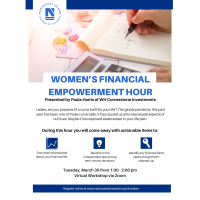 Join the Chamber in Celebrating Women's History, Women's Financial Empowerment Hour