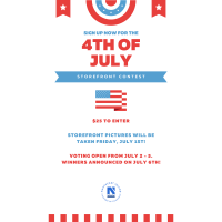 4th of July Storefront Contest