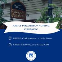 Ribbon Cutting for Craftmasters of Nantucket