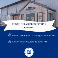 Ribbon Cutting for ACK Natural