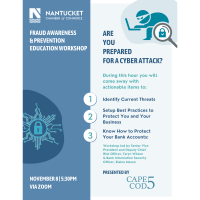 Small Business Banking: Fraud Recognition and Prevention with Cape Cod 5