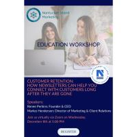 Chamber Presents an Education Workshop on Customer Retention: How Newsletters Can Help You Connect with Customers Long After They are Gone with Nantucket Island Marketing