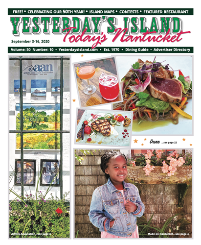 September 3, 2020 Issue of Yesterday's Island/Today's Nantucket