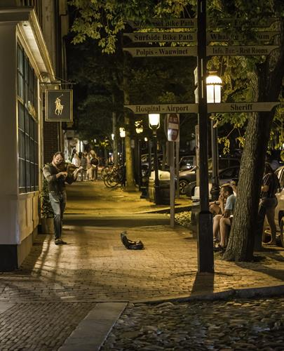 Nantucket Downtown Evening - from the Nantucket Photo Contest
