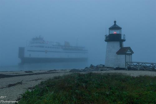Nantucket Ferry in Fog - from the Nantucket Photo Contest