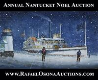 Rafael Osona's Annual Nantucket Noel Antiques and Arts Auction News Release: 11/23/2020