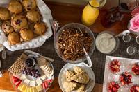 Abundant and varied Continental breakfast