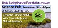 Linda Loring Nature Foundation Science Pub with Dr. Sarah Bois and Dr. Jen Karberg