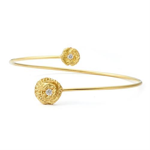 """Sea Star"" and ""Seaquin"" Bangle Bracelet"
