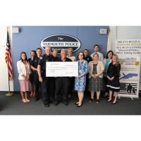 Cape Cod Five Donates $5,000 on behalf of Employees to Yarmouth Police Foundation