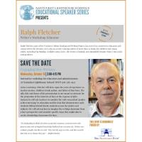Nantucket Lighthouse School to Host Award-Winning Author  and Writer's Workshop Educator Ralph Fletcher