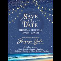Nantucket Maria Mitchell Association's Biggest Event of the Season: The Stargazer Gala