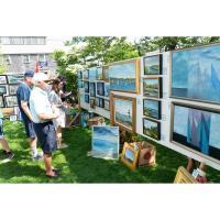 AAN hosts Nation's oldest Sidewalk Art Show Art Alfresco