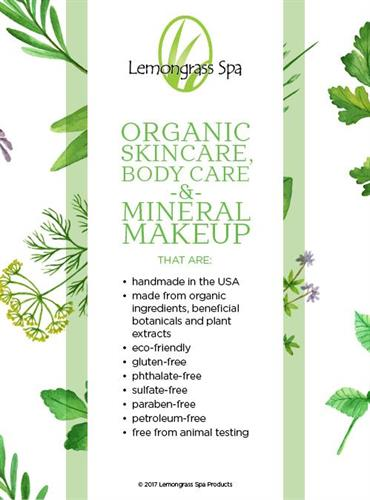 Lemongrass Spa Products - Natural, Clean and handmade in the USA