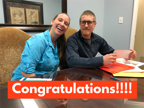 Happy first-time homebuyers!! February 2018