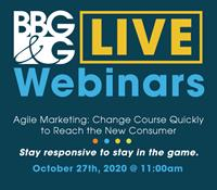 New Webinar - Agile Marketing: Change Course Quickly to Reach the New Consumer