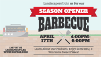 Season Opener Barbecue for Landscapers and Hardscapers
