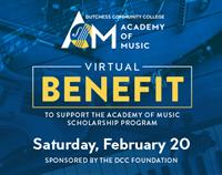 The Dutchess Community College Academy of Music (AOM) Virtual Showcase, Supporting the Academy of Music Scholarship Program Students