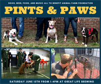 Pints and Paws Benefit