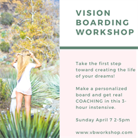 Vision Boarding Workshop with Master of One Coaching