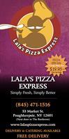 Lala's Pizza Express - Poughkeepsie