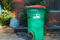 Single Stream Recycling Cart