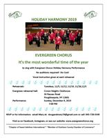 News Release: Evergreen Chorus Holiday Harmony program