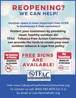Tobacco Free Action Communities in Ulster, Dutchess, and Sullivan - Lake Katrine