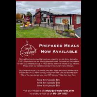 Simply Gourmet Offering Prepared Meals