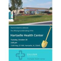 Hartselle Health Center Groundbreaking Ceremony