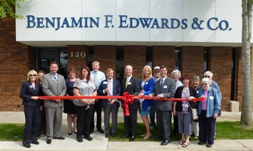 Office Ribbon Cutting, Summer 2014